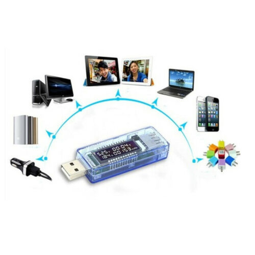 USB Charger Doctor Mobile Power Detector Battery Tester Voltage Current MeterPi