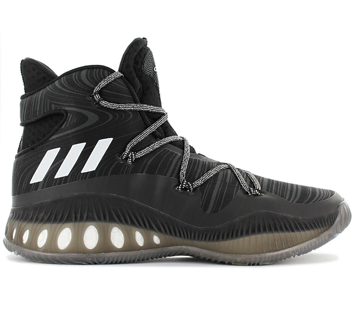 Adidas Crazy Explosive Boost Herren Basketballschuhe B42421 Sportschuhe Schwarz