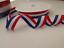 2 metres  Patriotic ribbon red white blue 15mm 25mm 40mm