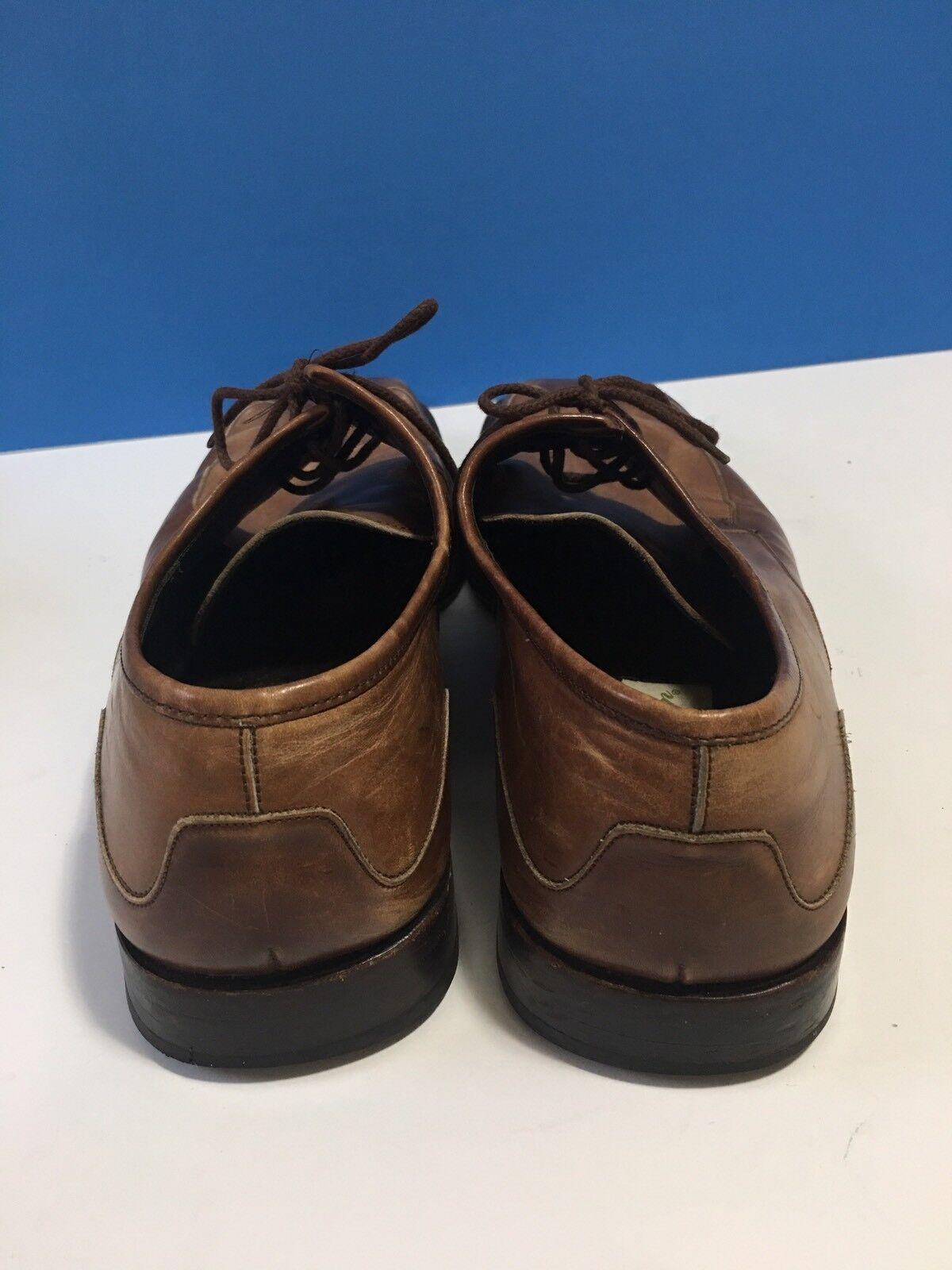 "Mezlan ""MALTA"" Mens Brown Tan Leather Square Toe … - image 2"