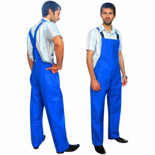 Mens Bib and Brace Overalls Dungarees Painters Decorator Engineers Work wear