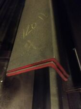 "4"" Angle Iron 1/4"" thick A36 Steel 12"" piece make Brackets Braces ATSM materials"