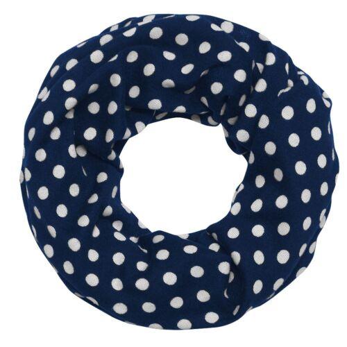 toller Loop Schal Punkte in schönen Farben blau weiß schwarz rot grau