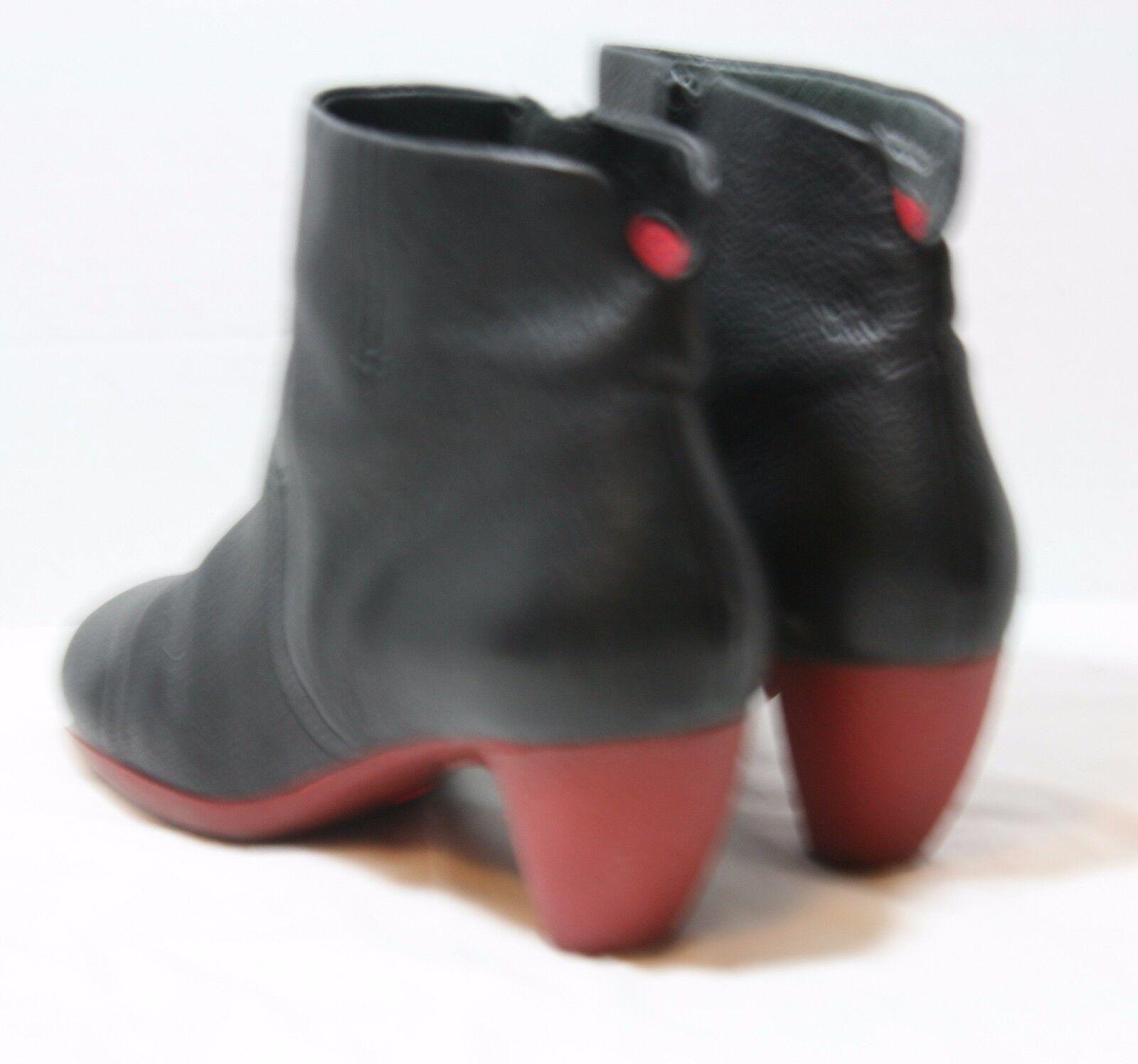 CAMPER chaussures violet ANKLE bottes noir LEATHER démarrageIES 37 46792-001 46792-001 46792-001 4e1c37