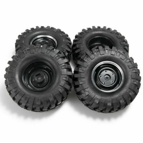 "4x 1.9/"" Beadlock Felgen Wheels /& 108mm Reifen für 1:10 RC Axial SCX10 TRX-4 D90"