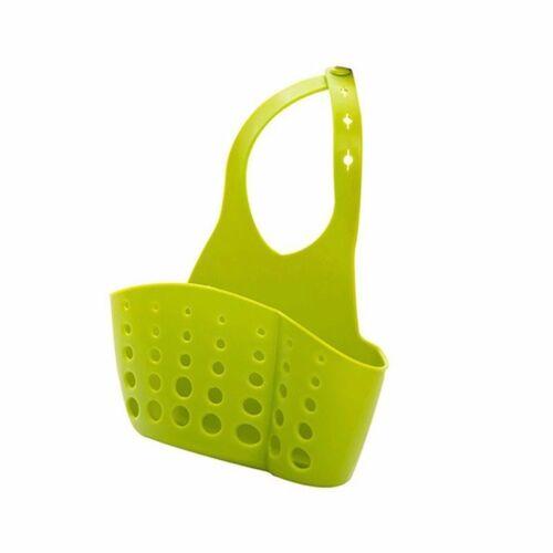 UK Racks Kitchen Sink Holder Faucet Storage Bag Basket Drain Sponge Tool BQP