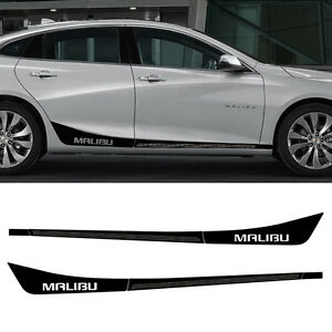 Side Line Decal Sticker A Type For 2017 Chevy Malibu All