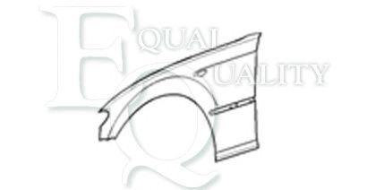 E46 330 xi 231 hp 170 L04574 EQUAL QUALITY Parafango anteriore Sx BMW 3 Coupé