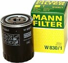 VW Polo 6k 1.9d Oil Filter 98 to 02 W830/1 Mann 028115561b VOLKSWAGEN Quality