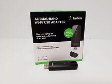 Belkin AC DUAL-BAND WIFI USB ADAPTER AC867 F9L1109