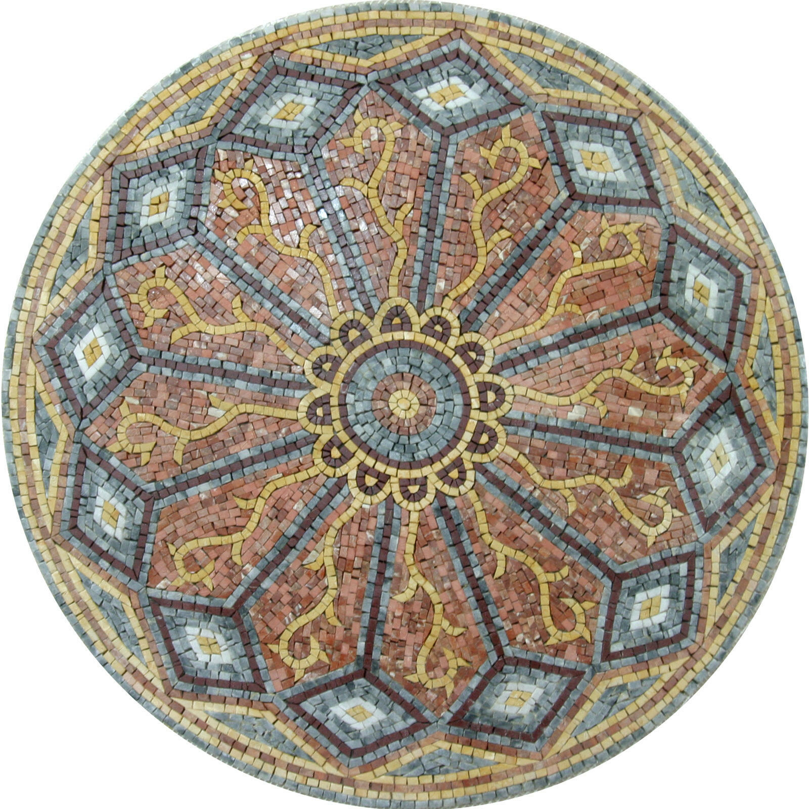 Celtic Traditional Design Motif Floor Wall Home Decor Marble Mosaic MD963