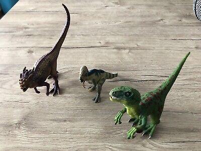 SCHLEICH Dinosauri piumati Raptors figure di dinosauro 42347