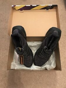 354c2f051e83e Adidas UltraBOOST 3.0 BA8923 Triple Black Size 9 1 2 UK  RARE ...