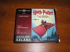 """HARRY POTTER E LA CAMERA DEI SEGRETI"" Audiolibri Salani 8 CD - J.K.Rowling -"