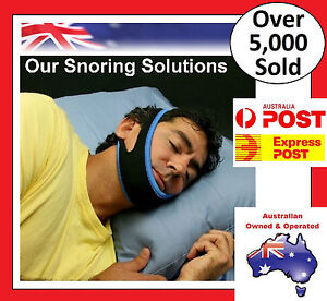 USED-Anti-Snore-AntiSnore-Device-Jaw-Strap-Stop-Snoring-Solution-Chin-Support