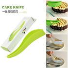 Cake Pie Slicer Sheet Guide Cutter Server Bread Slice Knife Kitchen Tool Gadget