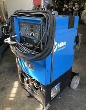 Wow Miller Syncrowave 250 Dx Squarewave Welding Tig Welder With Cart Amp Tigrunner