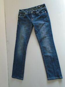 Miss Me Para Mujer Blue Jeans Pantalones Talla 30 Skinny Ebay