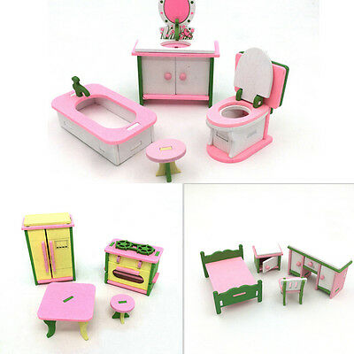 Dollhouse miniature modern computer furniture for doll children toy furnit JB