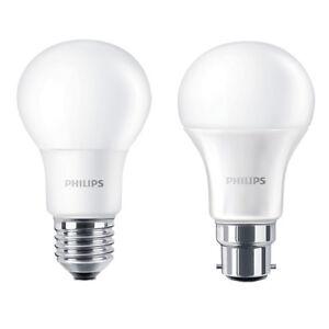 Packs-of-Philips-LED-GLS-B22-or-E27-Light-Bulbs-5-5w-8w-11w-13w-240v