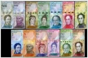 Venezuela 13pcs (Gem UNC) 委内瑞拉 13pcs