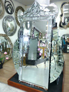Venetian Mirror Floor Wall Full Length