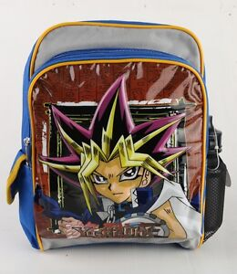 "Yu-Gi-Oh! Toddle Boys School Backpack 12"" Medium Size Bag With Free water bottle"