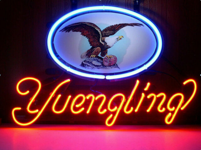 New Yuengling Eagle Neon Sign Light Lamp Bar Pub Gift 20