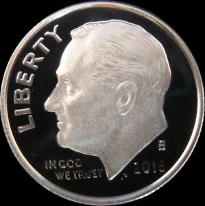 2018 S 90/% SILVER Proof Roosevelt Dime-Gem Proof-IN STOCK