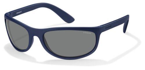 Occhiali da sole Sunglasses Polaroid P 7334 863 BLU INDEFORMABILE SOTTO CASCO