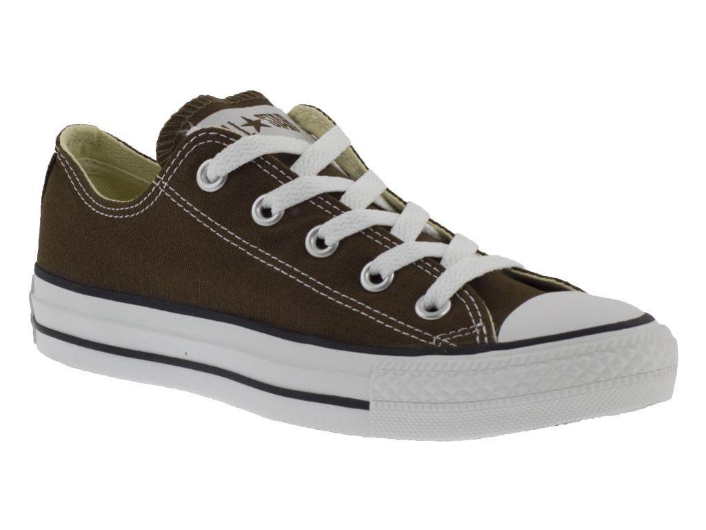 CONVERSE ALL STAR OX marron chaussures BASSE hommes femmes