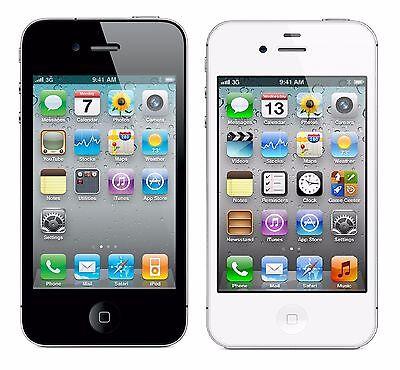 Apple iPhone 4S 16GB Factory Unlocked GSM Smartphone w/ 8MP Camera & Siri