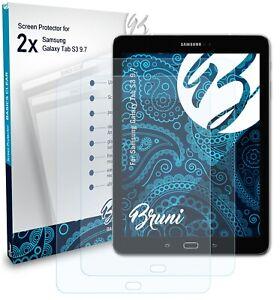 Bruni 2x Proteggi Schermo per Samsung Galaxy Tab S3 9.7 Pellicola Protettiva