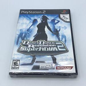 NEW Dance Dance Revolution SuperNova 2 (Sony PlayStation 2, 2007) PS2 DDR Sealed