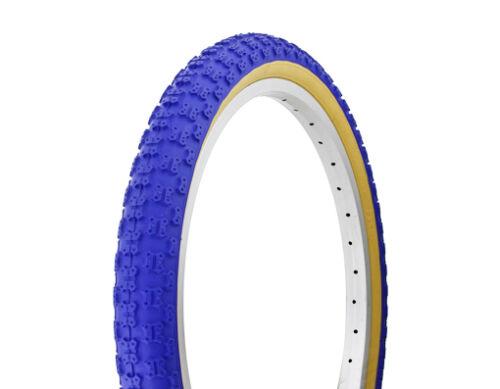 "1 FREE BIKE TUBES 1-20/"" x 2.125/""  Blue Gum Wall Bicycle Tire BMX MTB Cruiser"