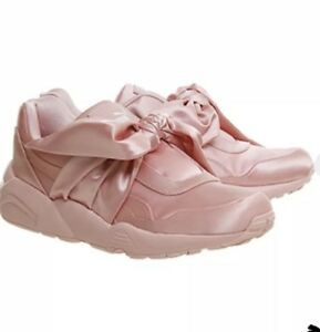 buy online 785b4 884a1 Details about Rihanna Puma Fenty bow trainer size 7 WILL NOT BE RELISTED