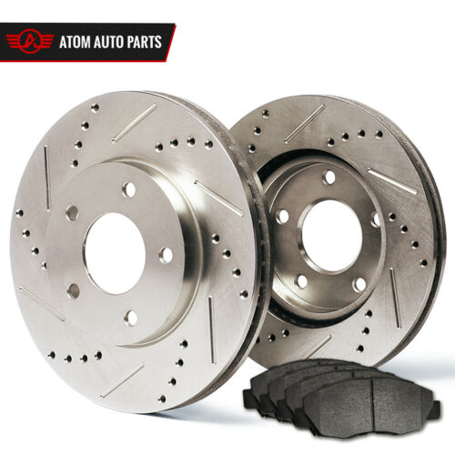 See Desc Rotors Metallic Pads R 2014 2015 Fits Nissan 370Z Slotted Drilled
