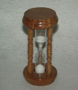 Vintage-3-5-034-wood-hourglass-3-minute-sand-timer-B