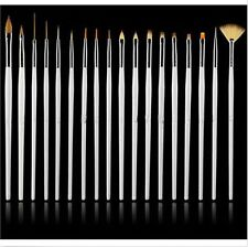 15 suit Nail art supplies brush nail painting pen Pearl white Tools