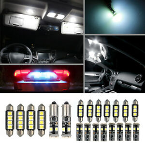 21x-LED-Canbus-Lampe-Ampoule-Lumiere-Kit-Blanc-Pour-BMW-E46-Sedan-M3-1999-2005