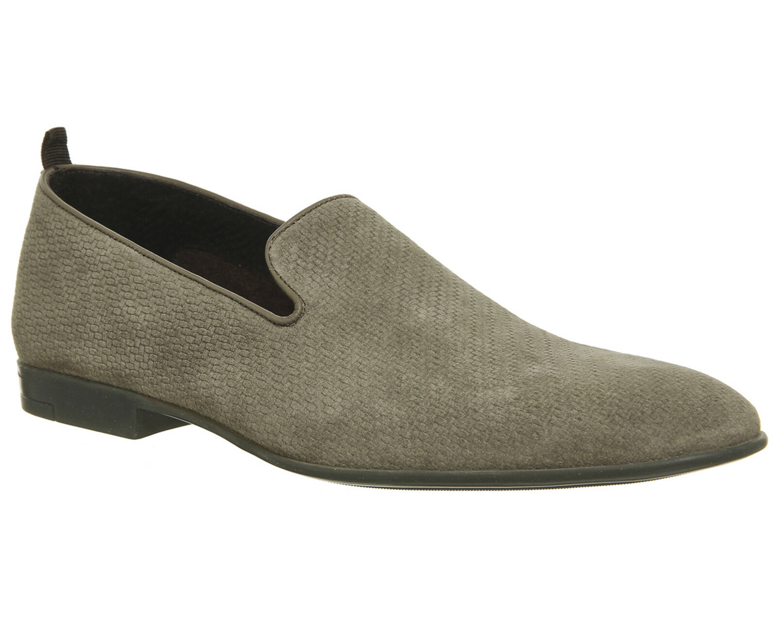 Mens Ask The Missus Haze Loafers Safari Suede Formal shoes