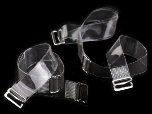 BH-Traeger-transparent BH Träger unsichtbar durchsichtig 10 //12 //15 //18mm breit
