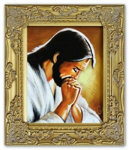 Religion-Jesus-Christ-Handmade-Oil-Painting-Picture-Oil-Frame-Pictures-G95297