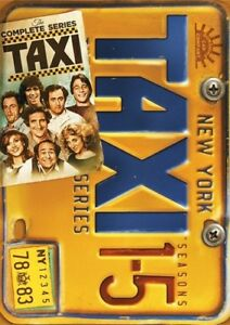 Taxi-The-Complete-Series-New-DVD-Boxed-Set-Full-Frame-Repackaged-Sensorm