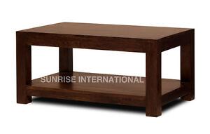 Dark Wood Medium Size Coffee / center table (85W x 55D x 42H cms) !!