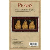 Pears Punch Needle Embroidery Kit