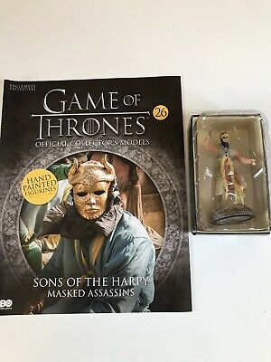 Film, Tv & Videospiele Spielzeug Liberal Game Of Thrones Issue 26 Sons Of The Harpy Eaglemoss Collector's Figurine Model Schnelle WäRmeableitung