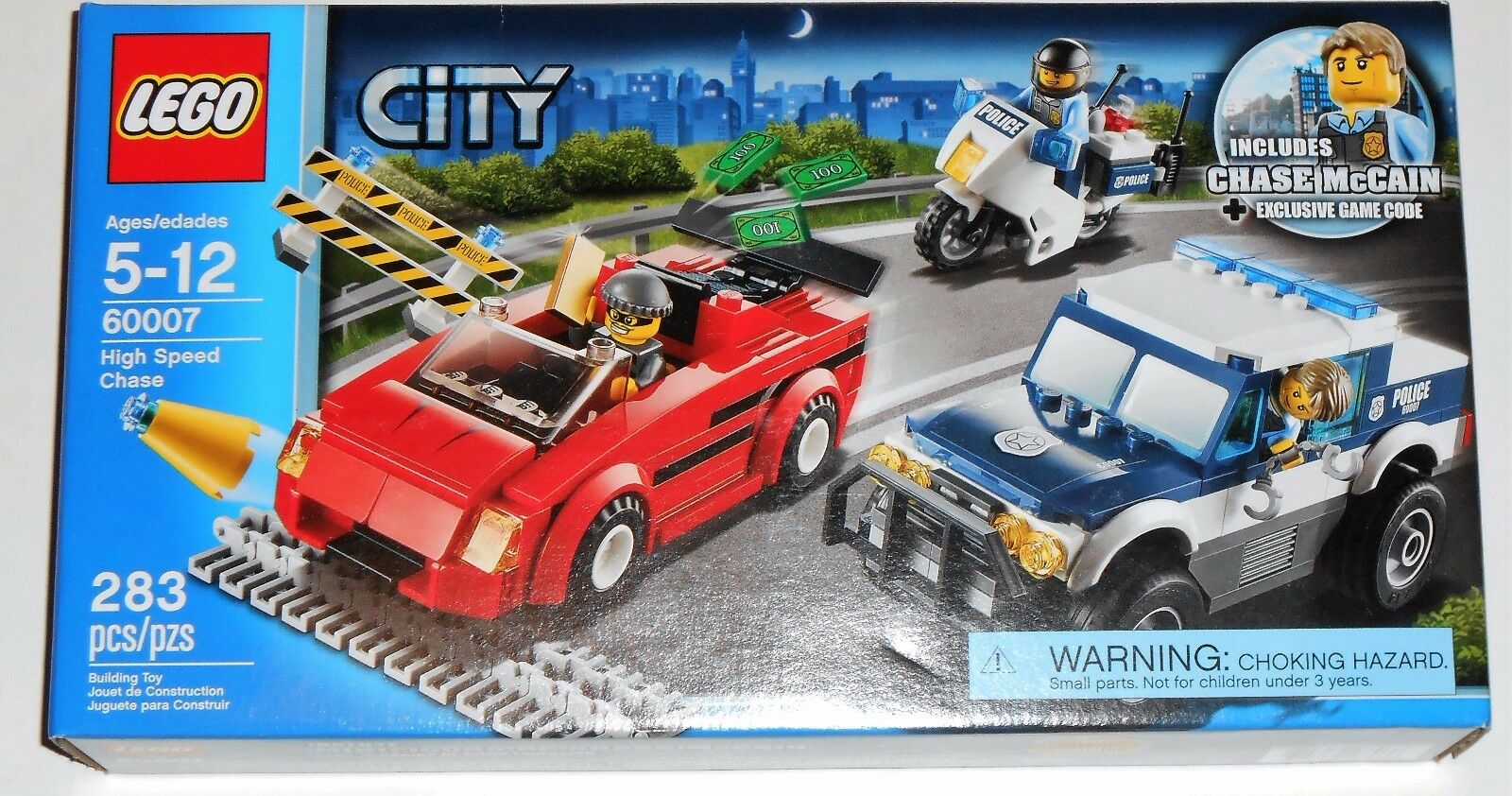 LEGO City High Speed Chase (60007)
