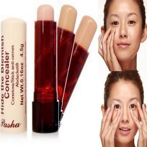 NO.1Color Hide Blemish Under-Eye Circles Concealer Stick Cosmetic Beauty Makeup