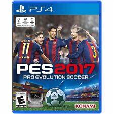 PS4 PES 2017 17 Pro Evolution Soccer NEW Sealed REGION FREE USA Futbol